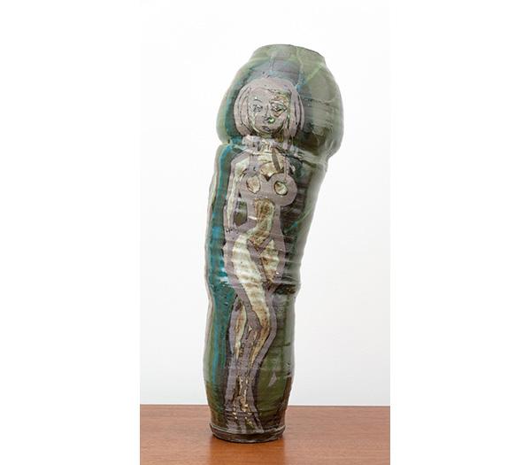 Roger Herman #10 Green Vase