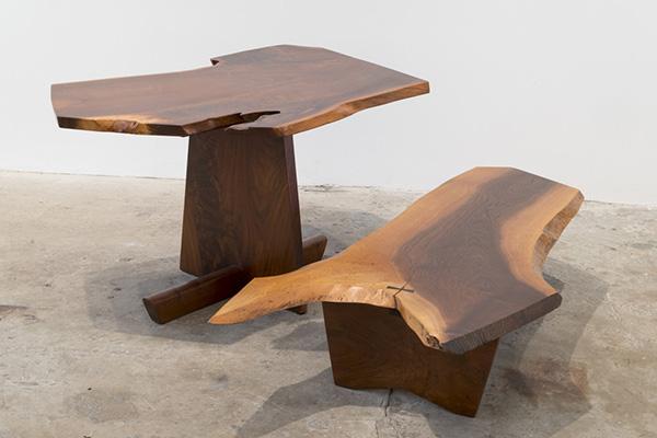 George Nakashima Greenrock Side Table/Console