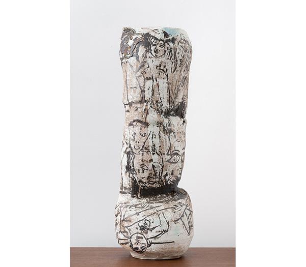 Roger Herman #14 Inlay Vase