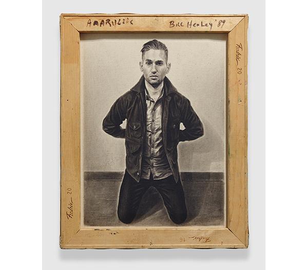 Ian Tweedy Self Portrait as Angelus Novus (after Paul Klee) II