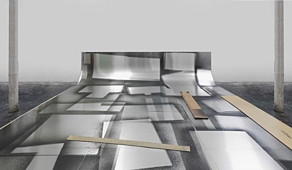 Joshua Neustein Aluminum Sweep